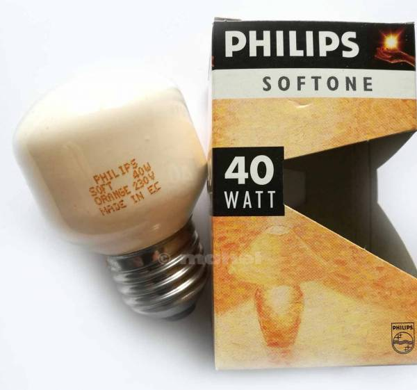 Philips Softone Orange 230V 40W E27