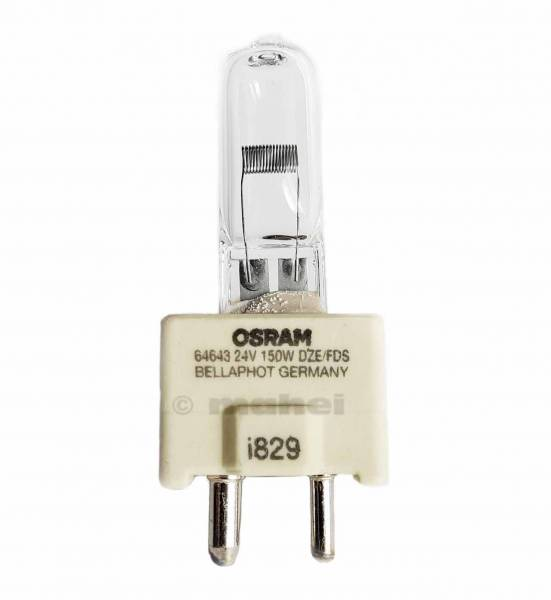 Dental Halogenlampen 12V 100W GY9.5 (FDT), 64628