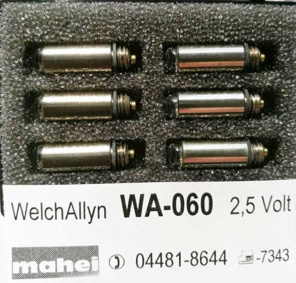 Diagnostiklampen 2.5V Welch Allyn 06000