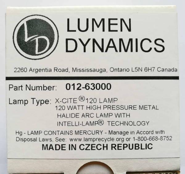 Lampe für ext. Lichtquellen X-Cite 120W