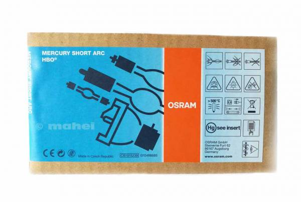 Osram HBO 103 / W2 Kurzbogenlampe