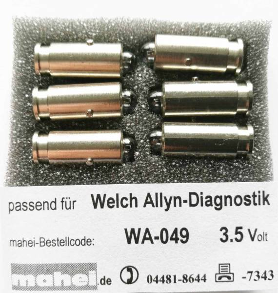 Diagnostiklampen 3.5V Welch Allyn 04900