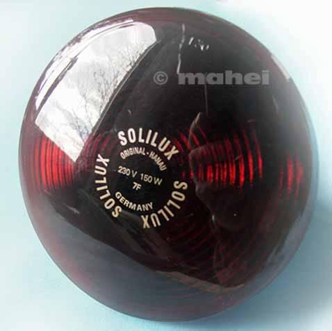 Infrarotlampe 150W E27 für SOLLUX