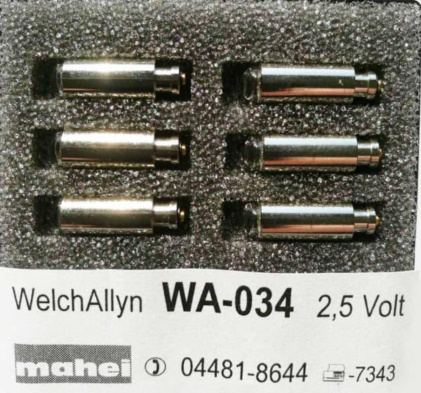 Diagnostiklampen 2.5V Welch Allyn 03400